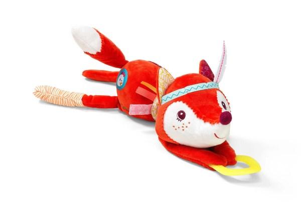 Ce jouet d'activités Alice la Renarde éveille les sens de Bébé dès 3 mois