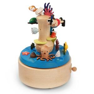 Boîte à musique Plongeur