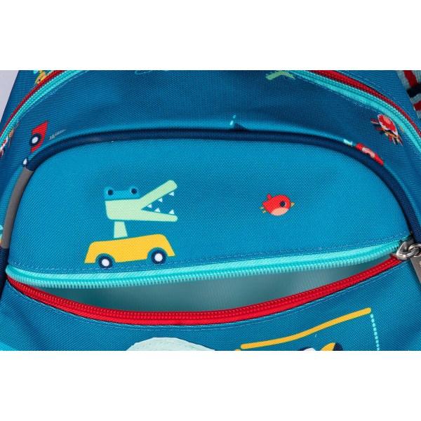 Le sac à dos En route est parfait pour aller à l'école ou à la crèche mais est aussi idéal pour la ballade ou le pique-nique !