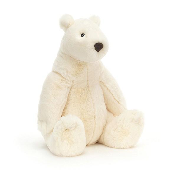 Cette peluche Ours polaire câlin est une peluche très douce en forme d'ours polairequi convient aux bébés dès la naissance. Avec ses grands bras, l'ours polaire câlin veut enlacer tout ce qui s'approche de lui pour donner de gros câlin. Sa fourrure très douce d'un blanc laiteux imite la neige et séduira les petits et les grands.