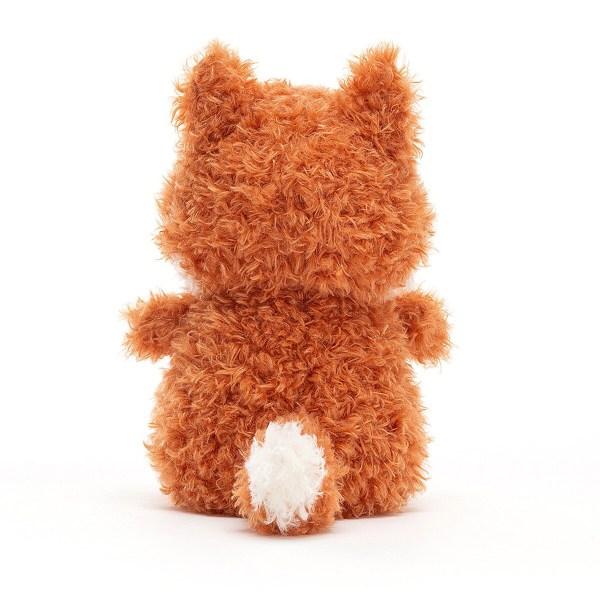 C'est un petit renard très rusé au regard malicieux et à la belle robe orange feu et crème. Quelle bonne idée pour un cadeau de naissance !