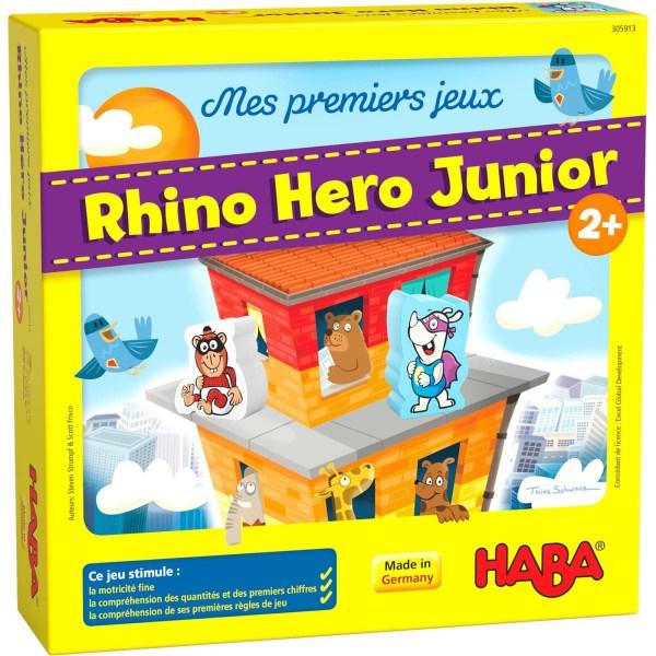 Boite du jeu Rhino Hero Junior