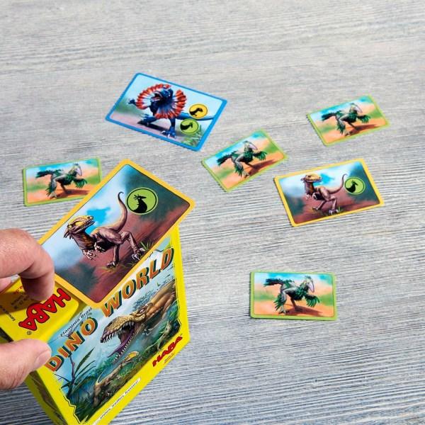 photo d'une partie du jeu dino world