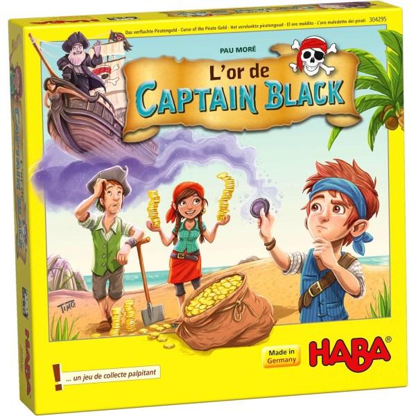 boite du jeu L'or de Captain Black