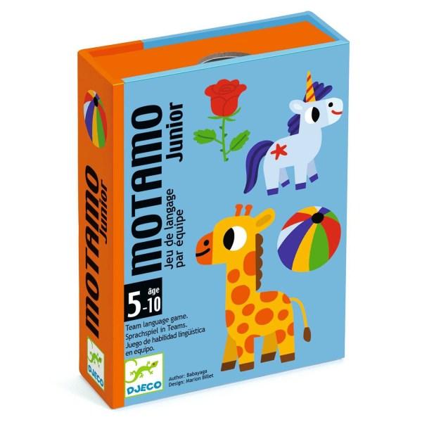 boite du jeu de cartes Motamo Junior