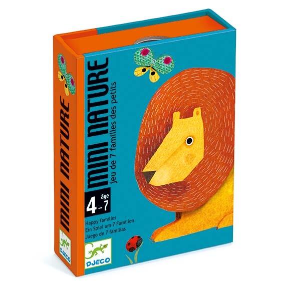Boite du jeu de cartes des 7 familles Mini Nature