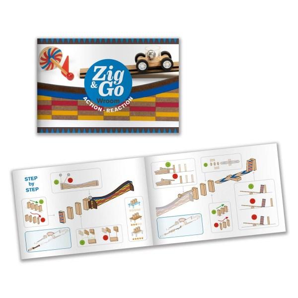 livret du jeu Zig & Go Wroom