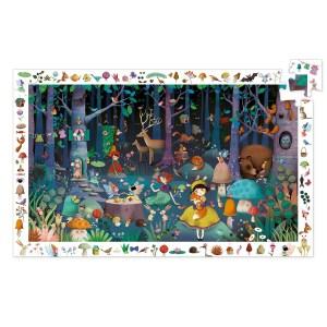 Puzzle observation Forêt enchantée 100 pièces