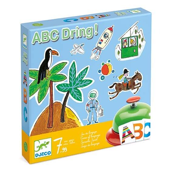 boite du jeu ABC Dring