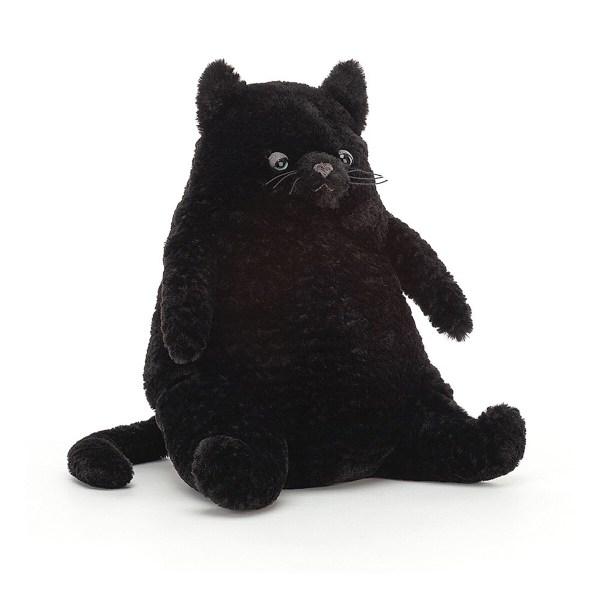 La peluche chat Amore Cat est unepeluche en forme de chat. Toute douce et moelleuse, ce gros minet convient aux bébés dès la naissance.