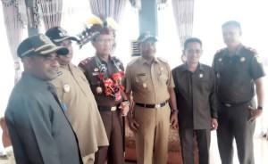 Kunjungan Kerja Kajati Papua Di Kabupaten Teluk Bintuni Prov Papua Barat