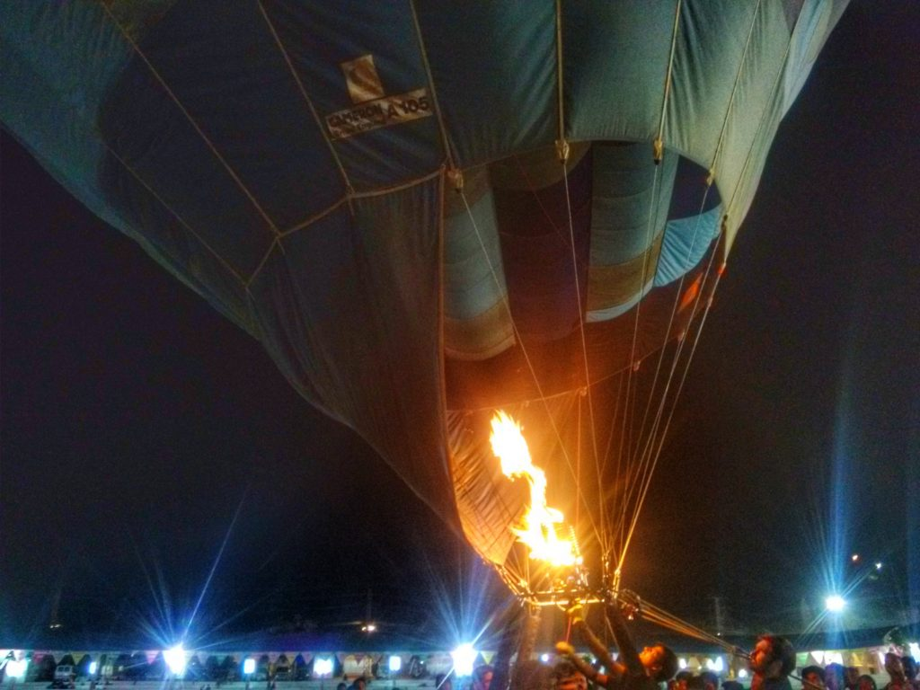Hot Air Balloons in Pushkar