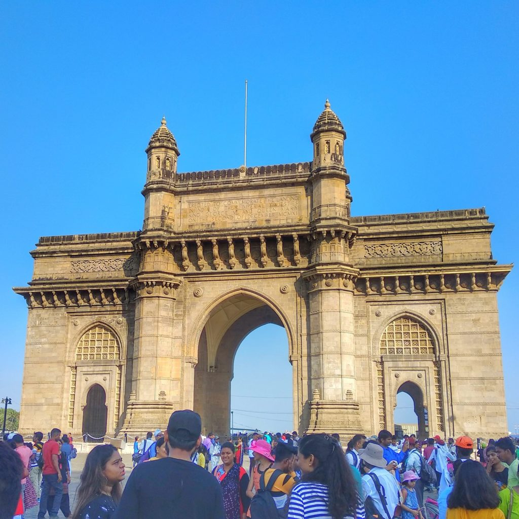 Restless at The Gateway of India, Mumbai