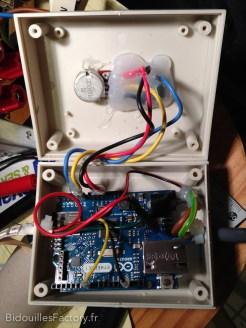 La carte Arduino Ethernet dans son boîtier
