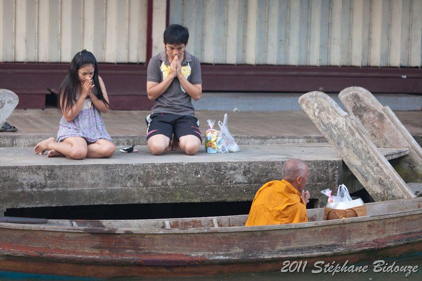 monk offering