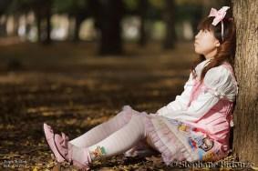 japanese lolita in park