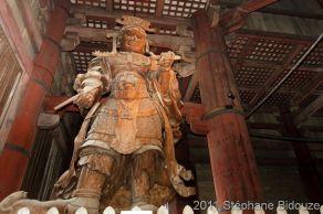 Koumokuten demon statue