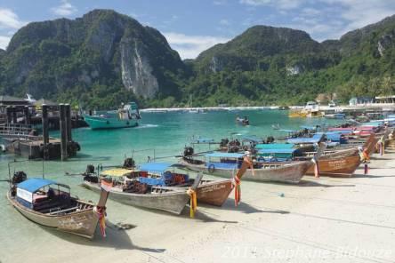 Du Japon vers Ko Phi Phi en Thailande: Changement de décor