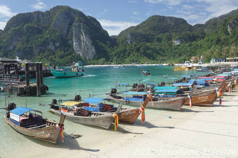 From Japan to Ko Phi Phi island in Thailand