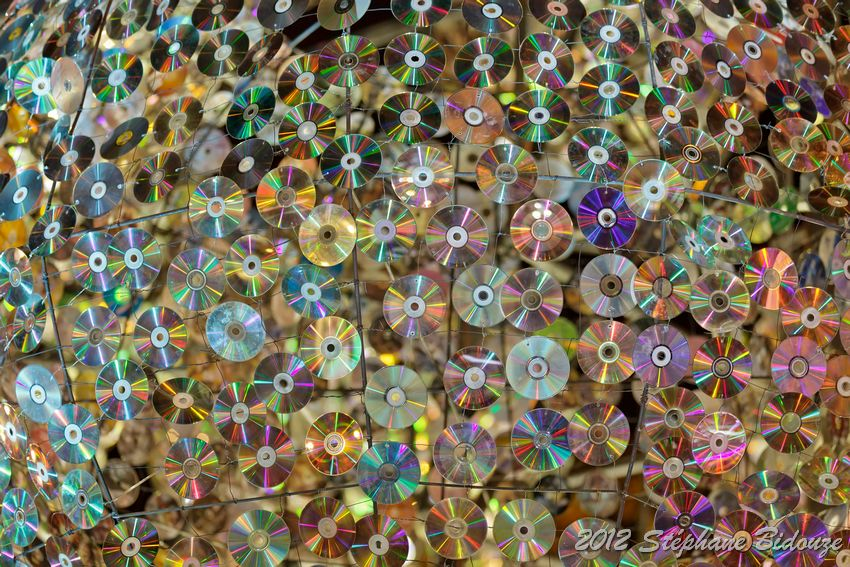 compact disc background