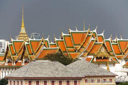 The Bangkok temples