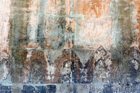 Old damaged paintings