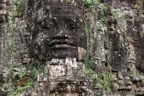 Angkor east gate face