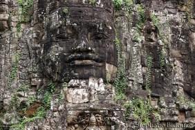 Angkor east gate face