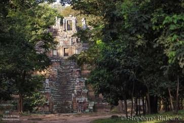 Angkor royal palace