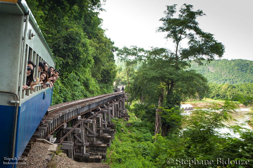 The death railway from Kanchanaburi to Namtok
