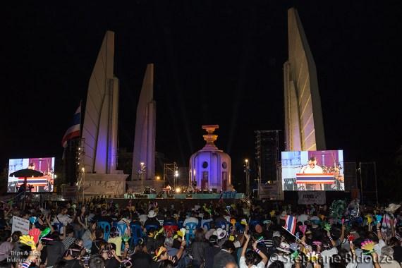 protestation-bangkok-Ratchadamnoen