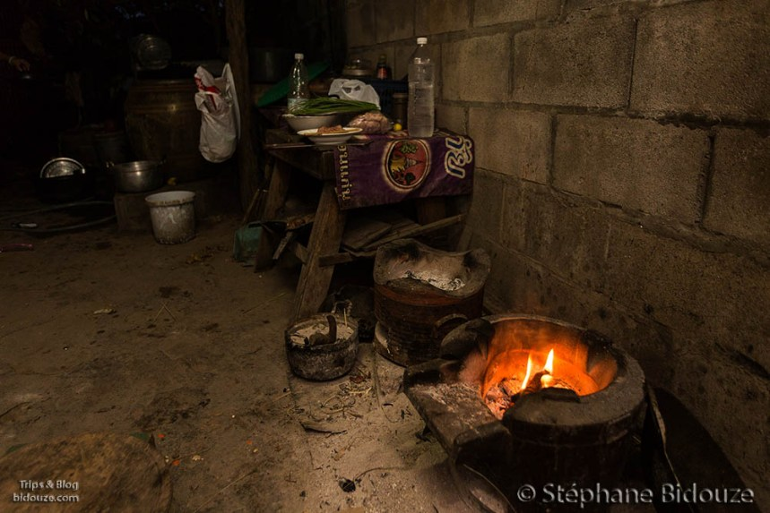 Traditional Thai wood stove