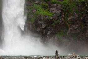 Détail sur la cascade
