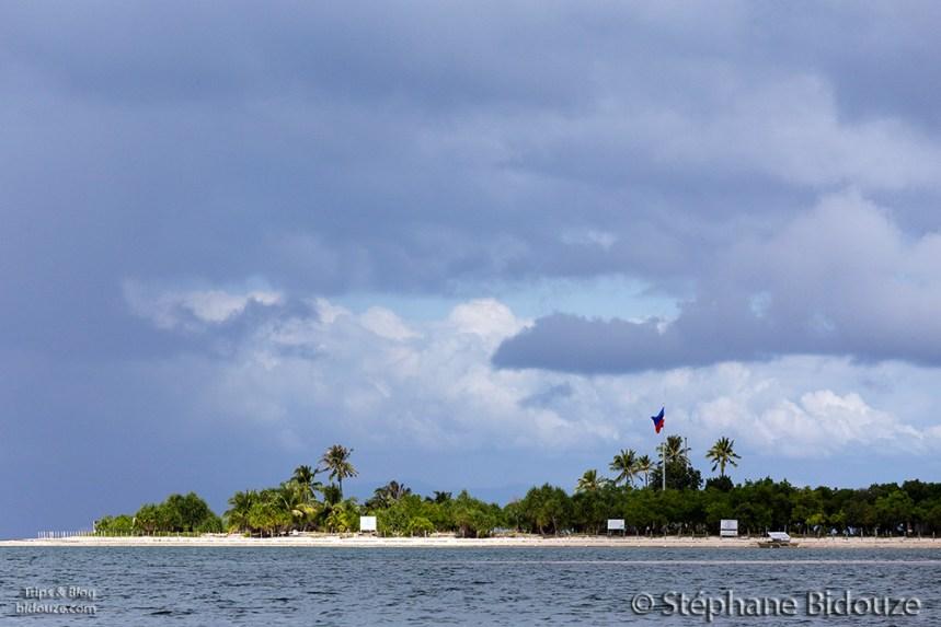 The virgin island near Bohol
