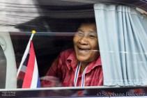 manifestant-bangkok-suthep-voiture