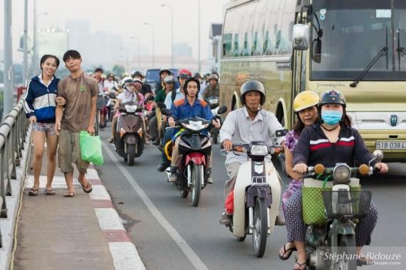 pont-heure-pointe-Ho Chi Minh City