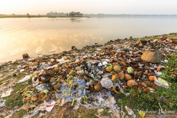 lac-Taungthaman-pollution-dechets