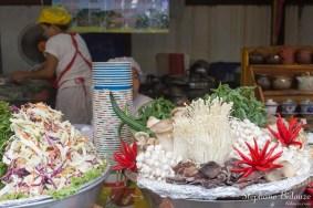 Champis et légumes