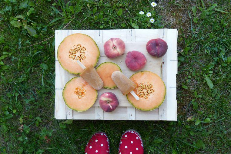 Glace Melon:Peche 4