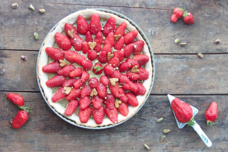 Tarte-aux-fraises-vegan-1