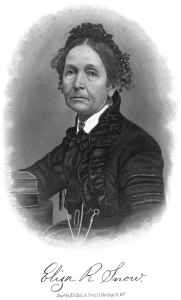 Engraving of Eliza R. Snow
