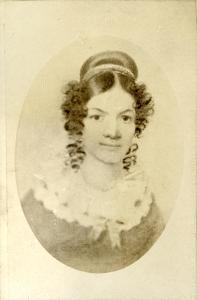 Drawing of Jane Johnston Schoolcraft.