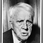 Photo of Robert Frost from 1961.