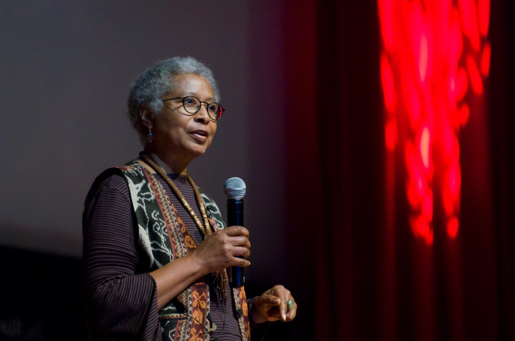 Photo of Alice Walker.