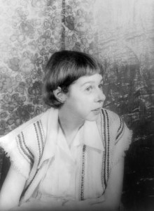 Photo of Carson McCullers.