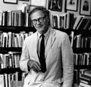 Photo of Robert Lowell.
