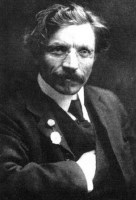 Photo of Sholem Aleichem.