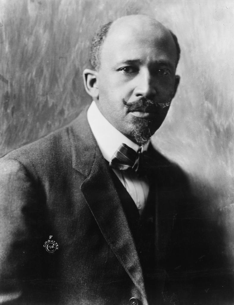 Photo of W. E. B. Du Bois.