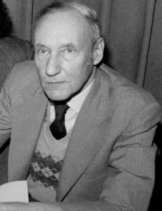 Photo of William S. Burroughs.