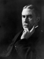 Photo of A. E. Housman.